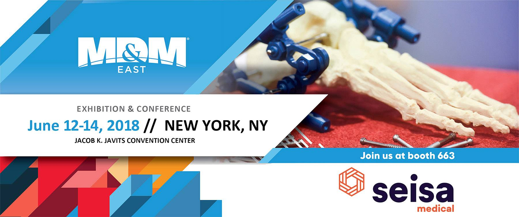 Seisa Present in MD&M East New York 2018