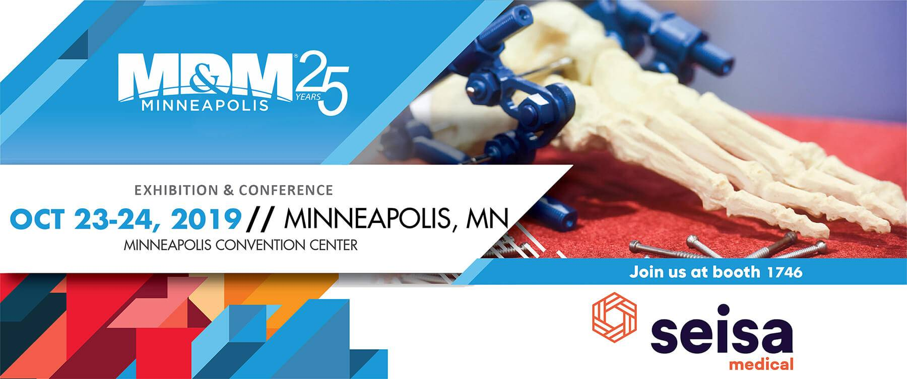 Seisa will be exhibiting at MD&M Minneapolis 2019